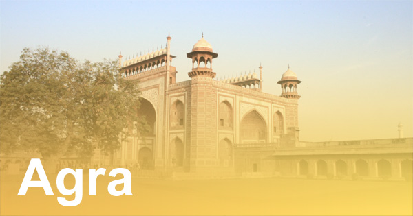 Agra in Indien